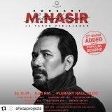 Tiket Konsert M Nasir Satu Hikayat Panas, Jangan Gigit Jari