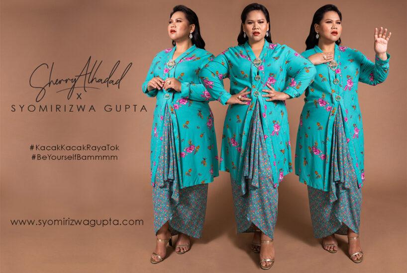 Sherry Alhadad X Syomirizwa Gupta Rai Wanita Plus Size di Lebaran